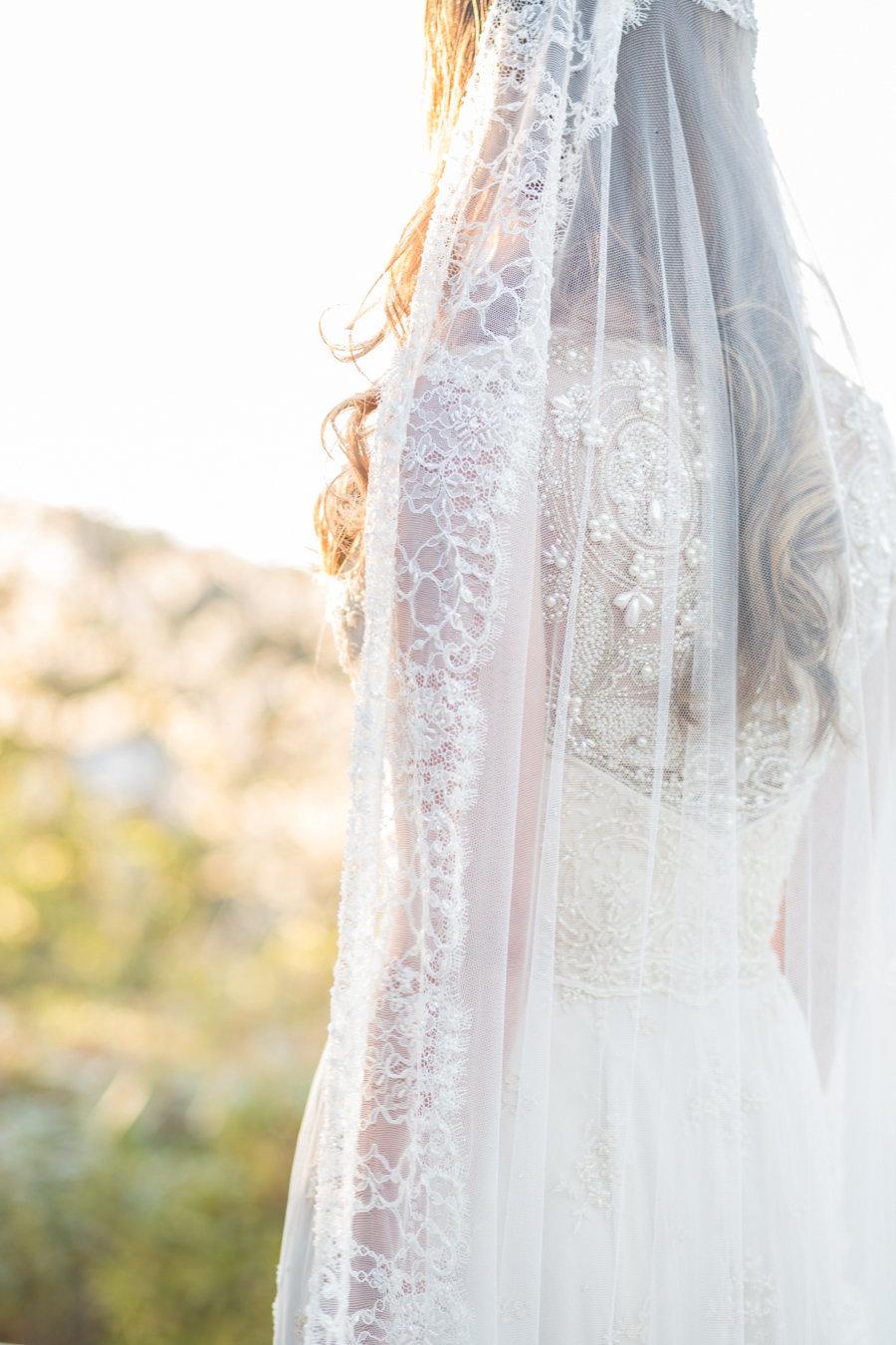 Artemis_champagne_beaded_back_lace_wedding_dress_veil_JoanneFlemingDesign_AveryLynnPhoto