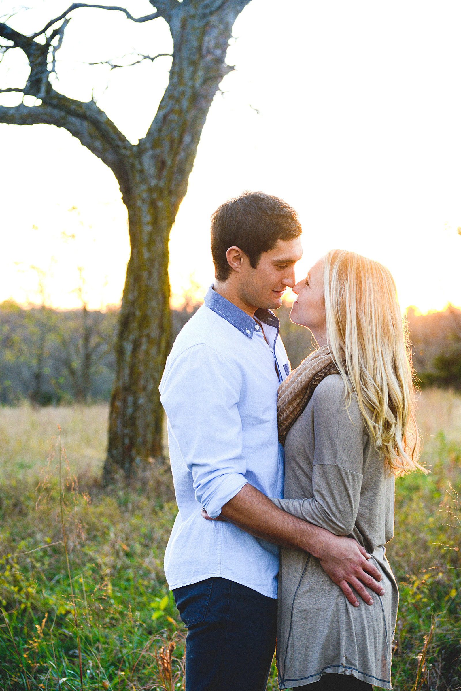 Engagement Pictures at Shawnee Mission Park-74