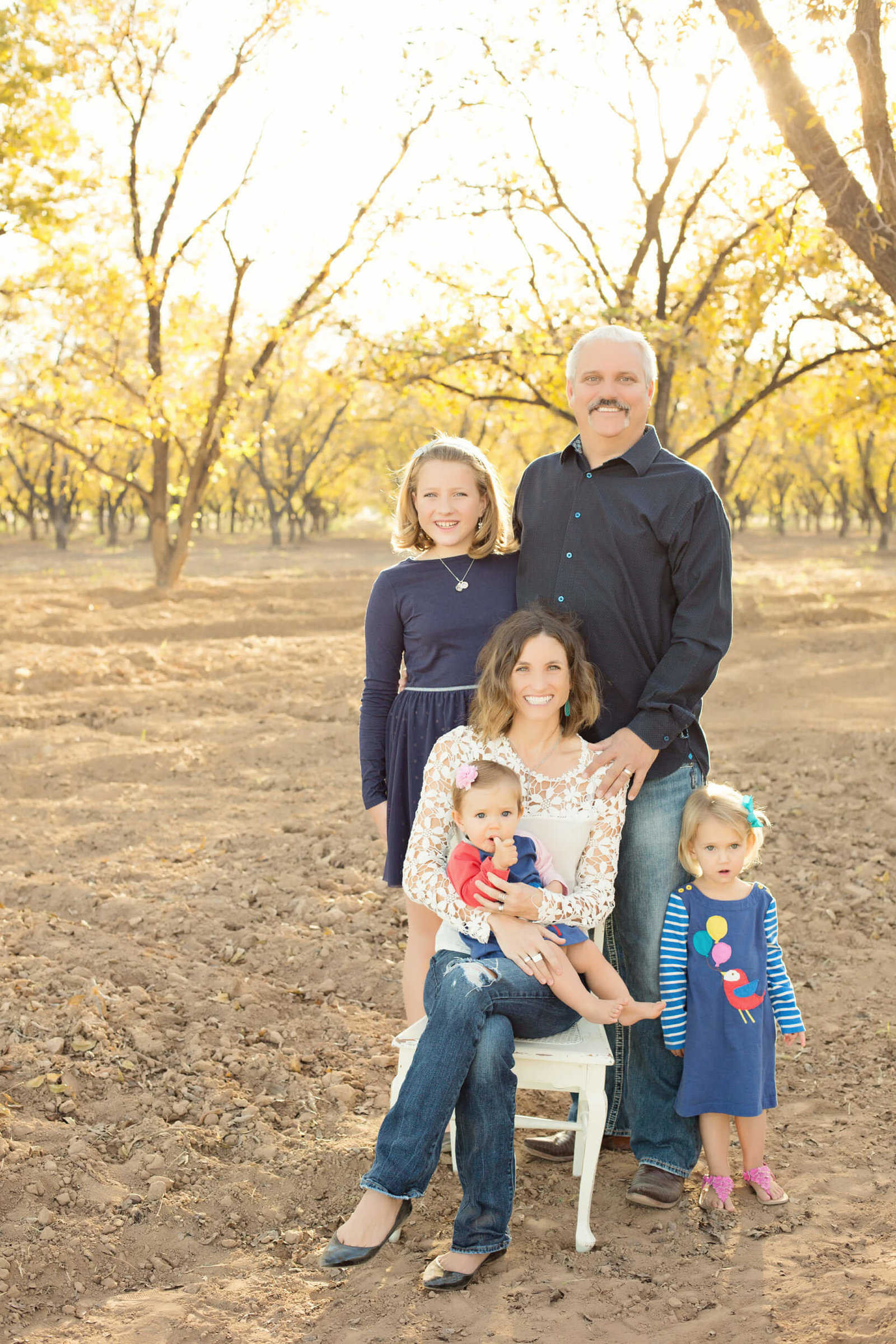phoenix family of five outdoor photography