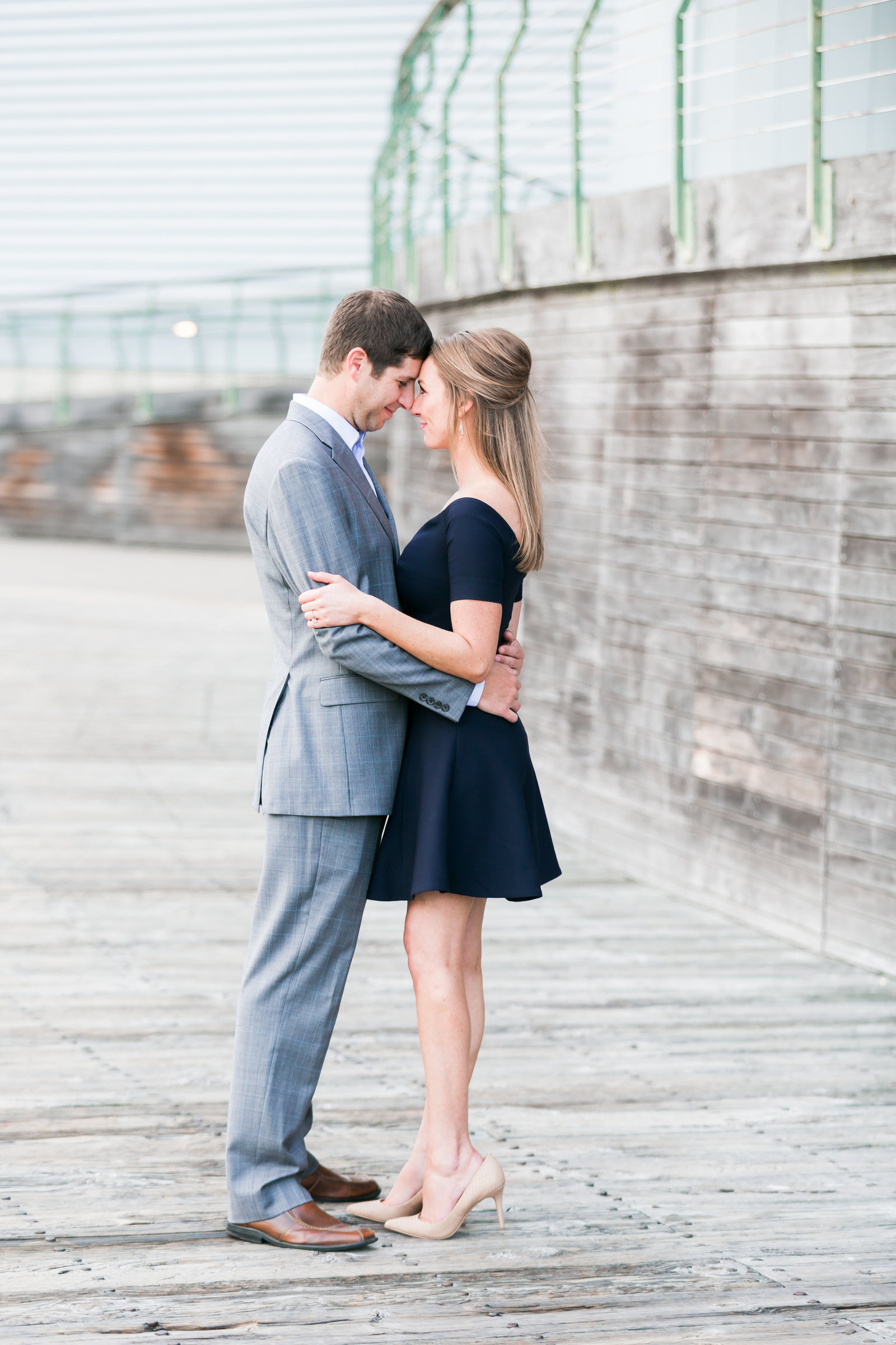 Downtown Norfolk Classic Engagement Session by Elizabeth Friske Photography-17