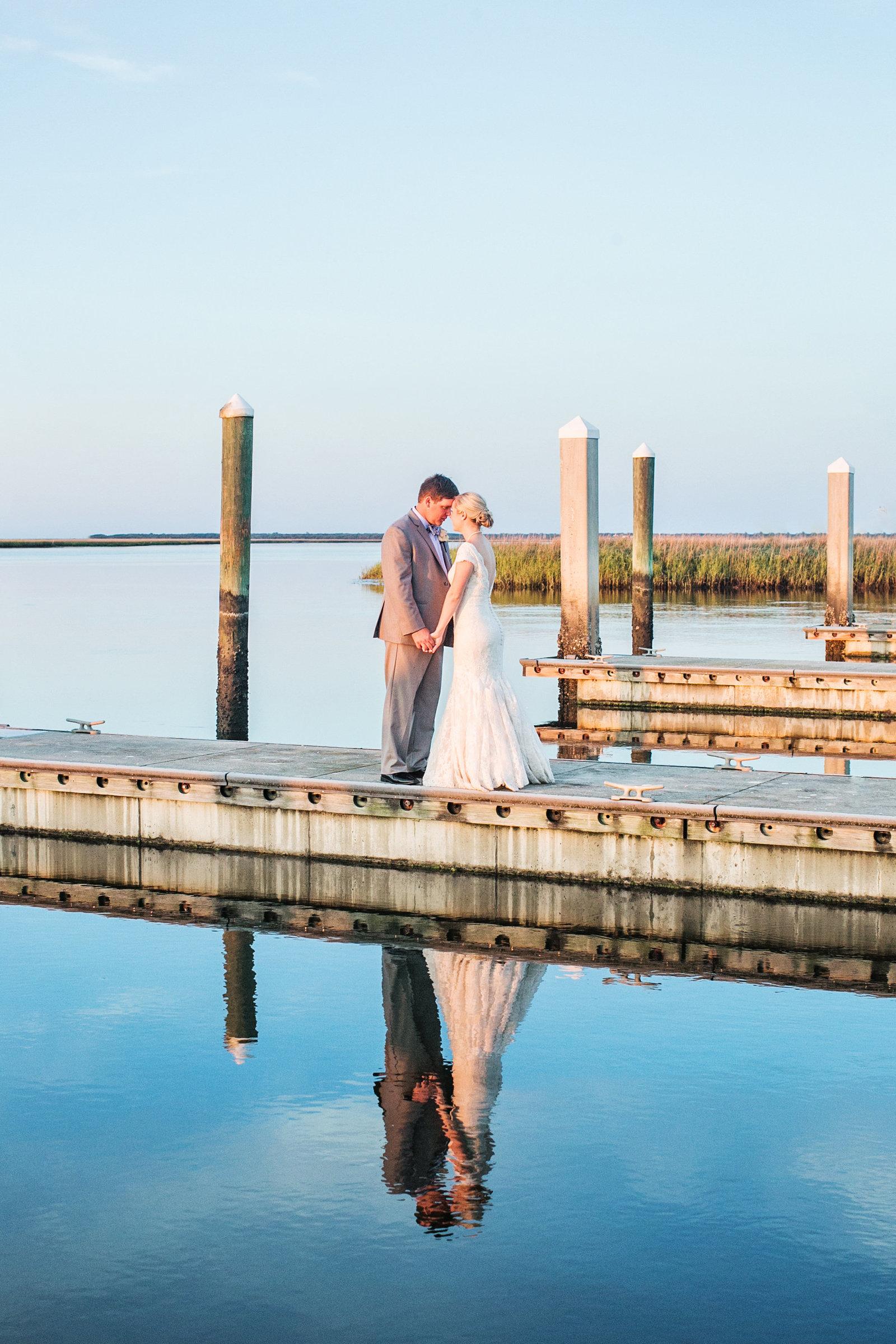 Bride and Groom Portrait Amelia island florida