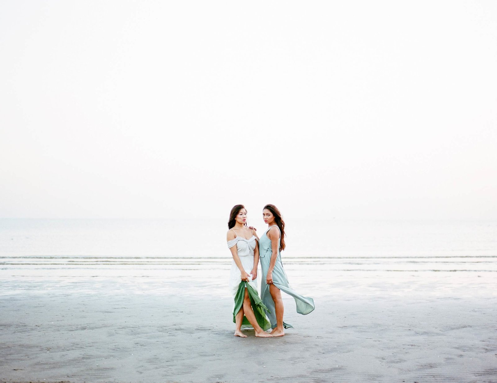 Bridal wedding inspiration for beach weddings
