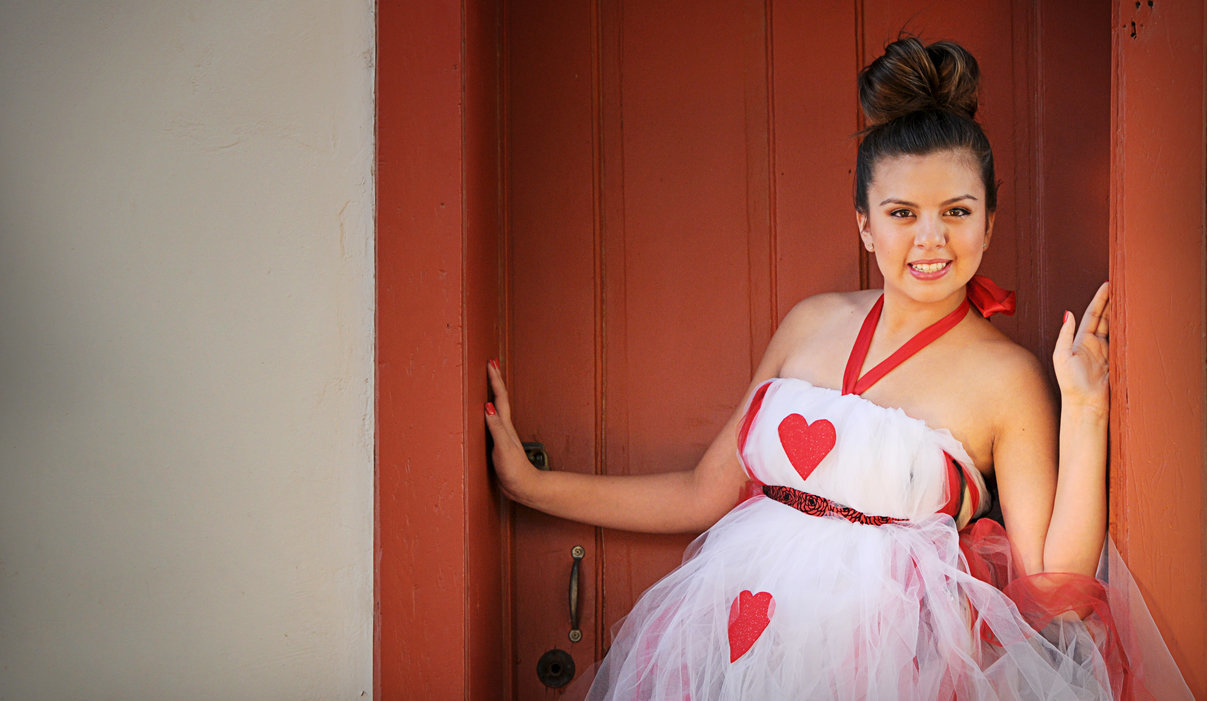 Quinceañera with Heart