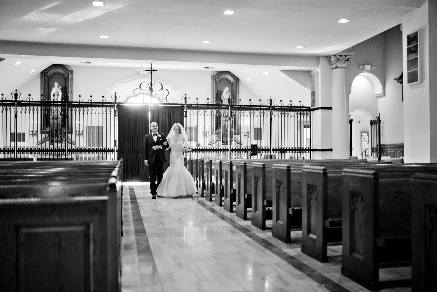 Miami Church of the Little Flower wedding photography 00417