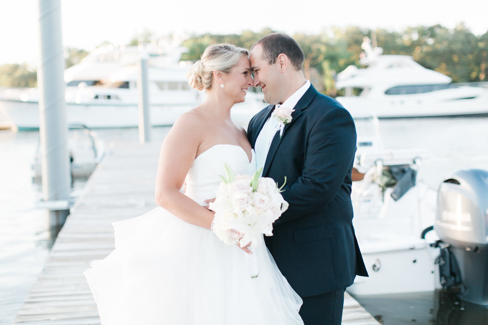 Cavalier Yacht and Golf Club Wedding by Elizabeth Friske Photography-329