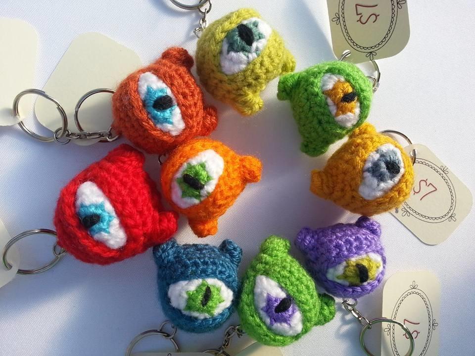 Yarn Eye Monsters