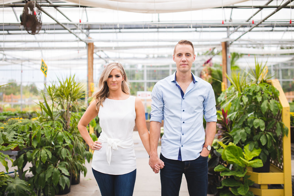 Saint John NB Wedding Photographers & Filmmakers - Garden Engagement Photos19