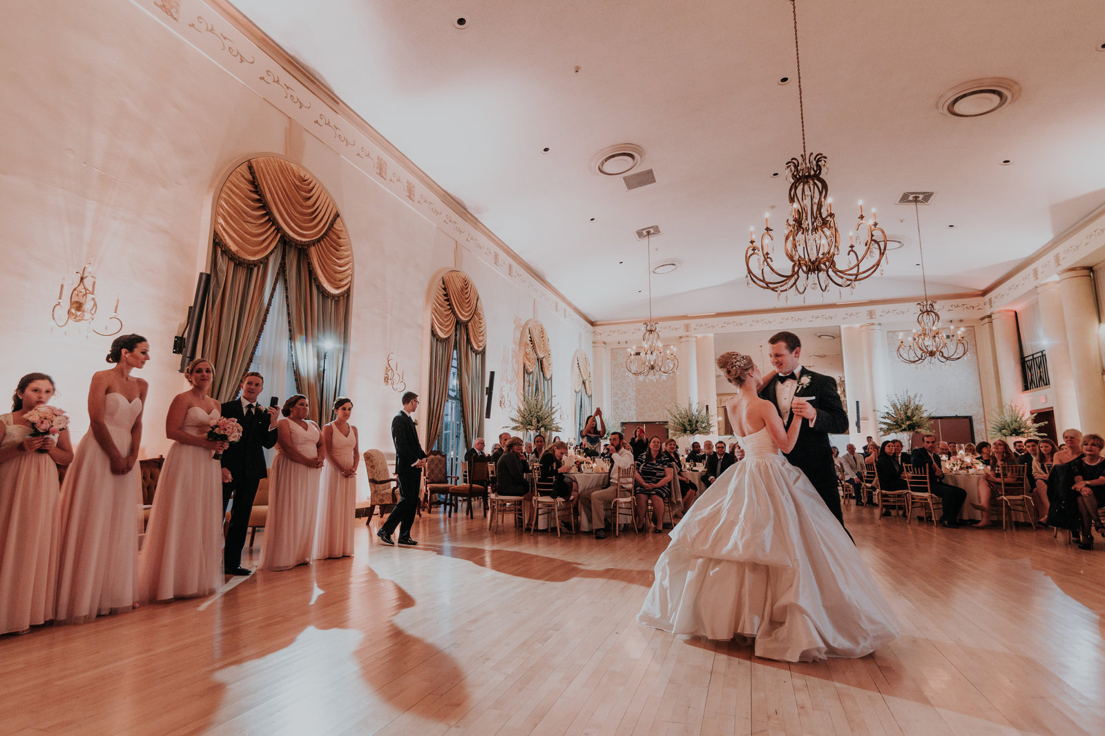 dupont country club first dance wedding