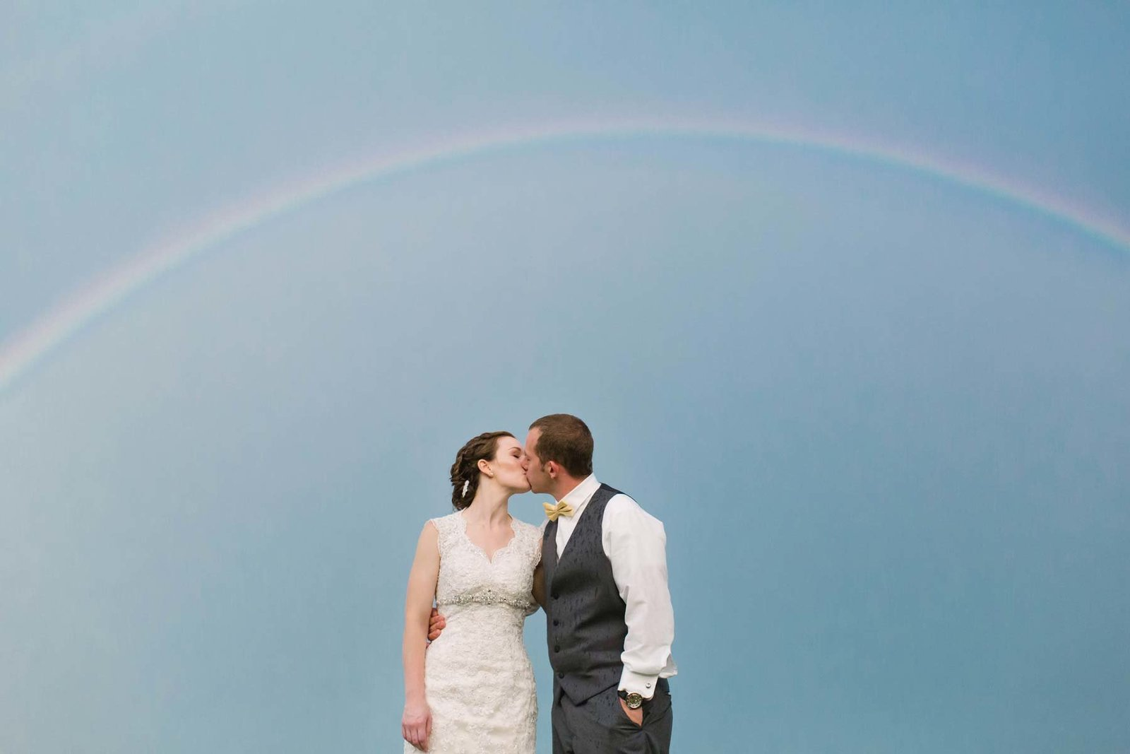 Veasey Park Groveland Massachusetts Wedding Photographer Rainbow Image