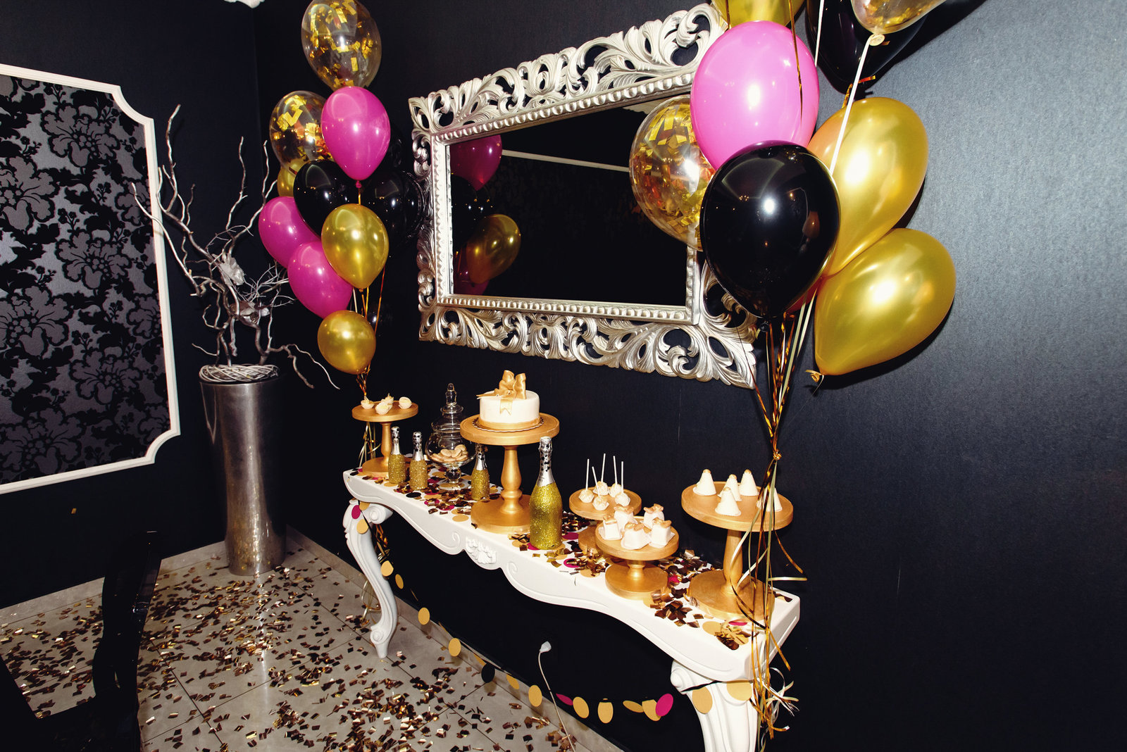 milestone bday celebration-private party