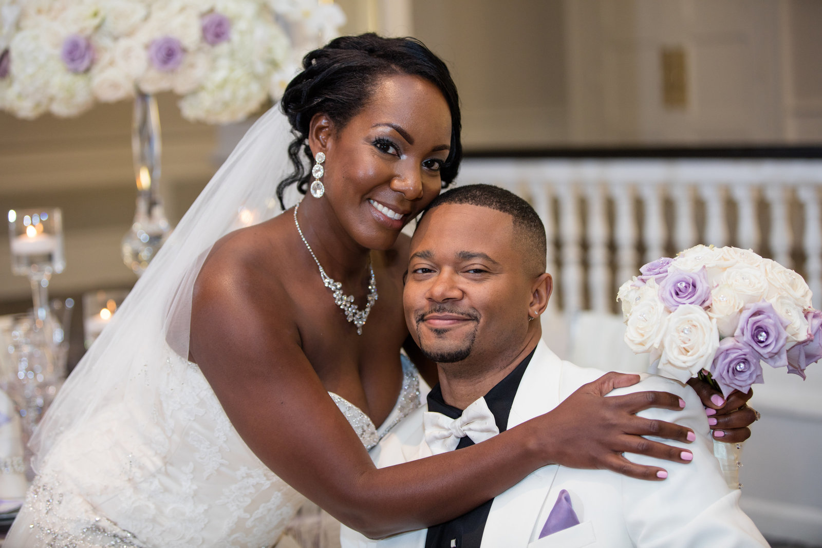 Vow Renewal couple Martina & Alvin Green