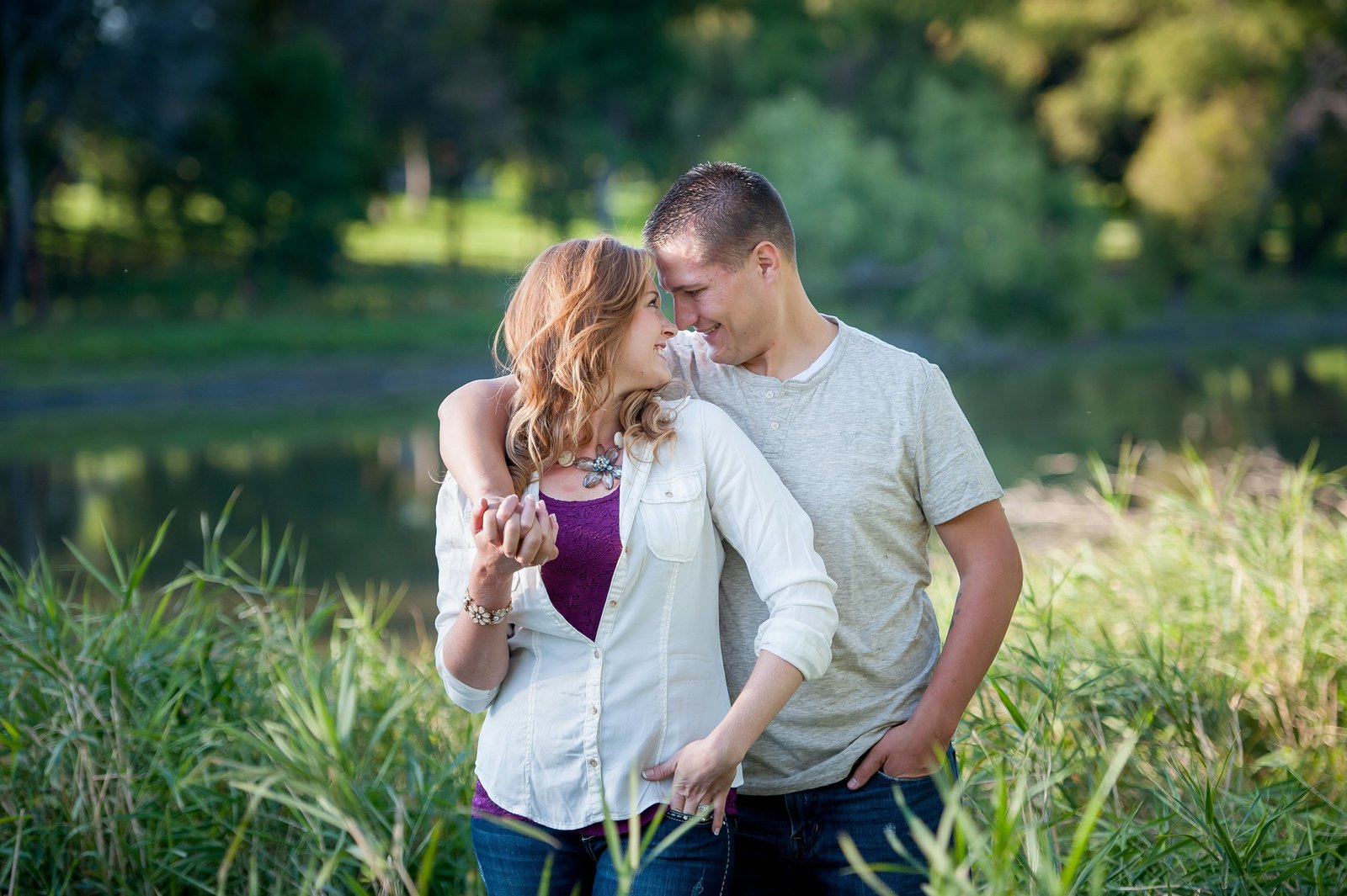 Fargo Engagement photographer summer sessions kris kandel