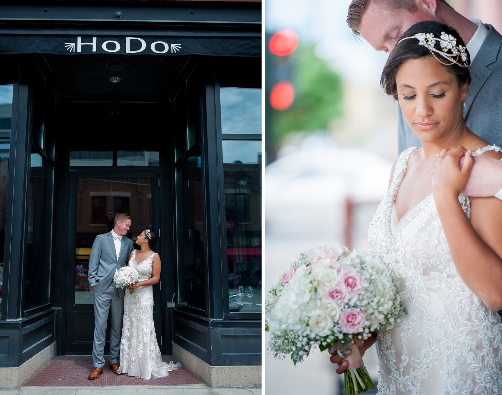 Fargo downtown hodo hotel weddings photographed by Kris Kandel