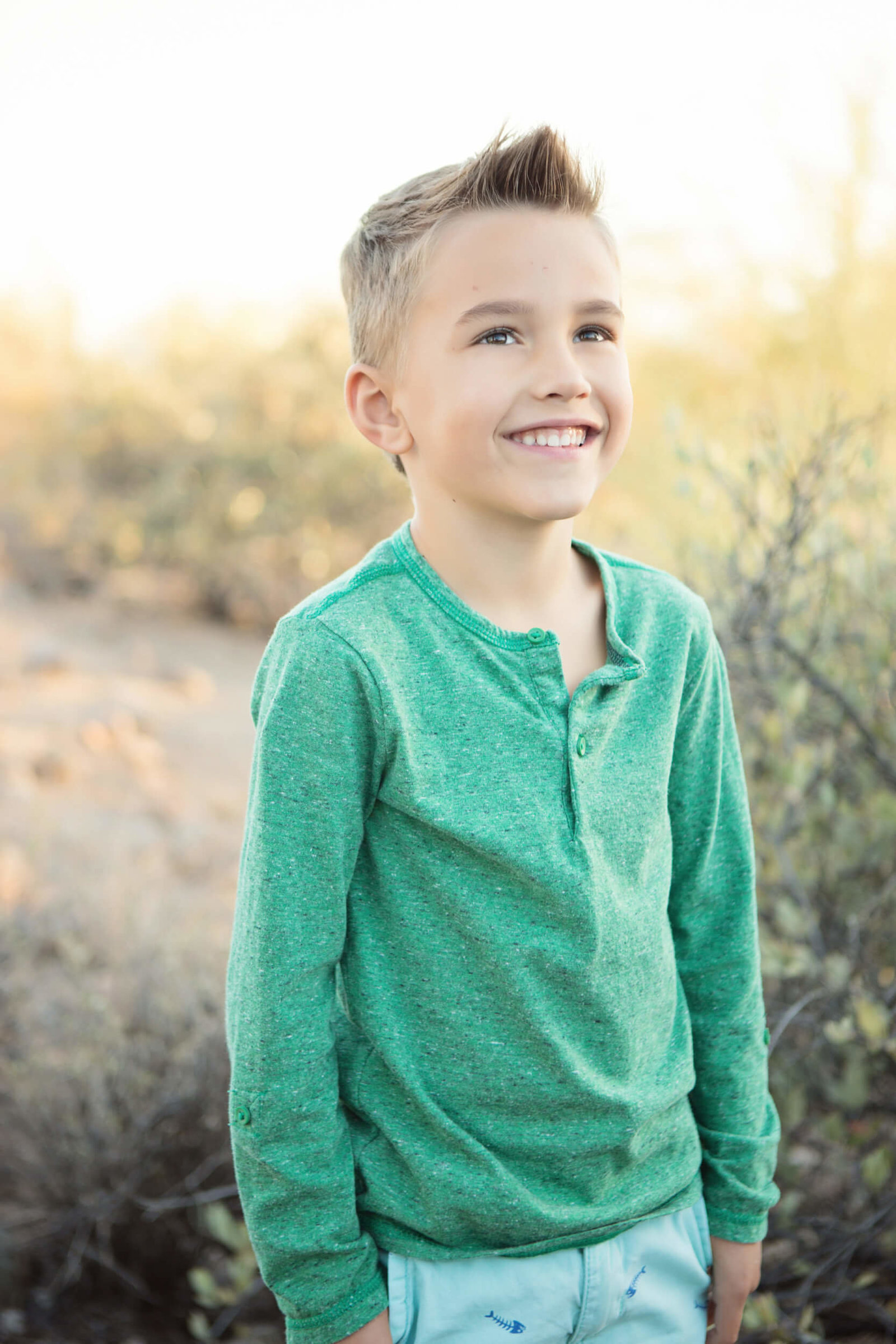 outdoor arizona kids photoshoot