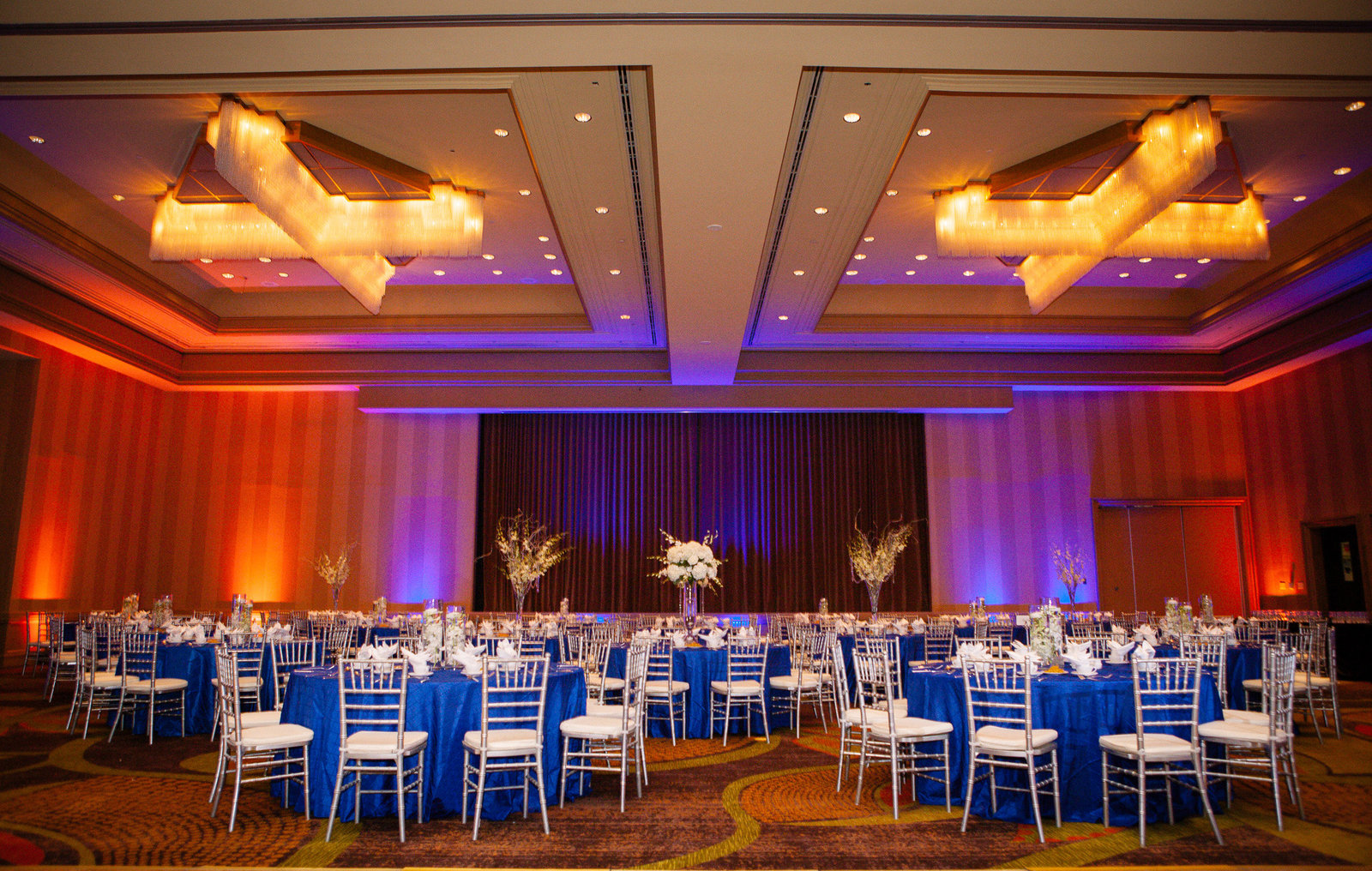 Landsdowne Resort Wedding Reception with lighting
