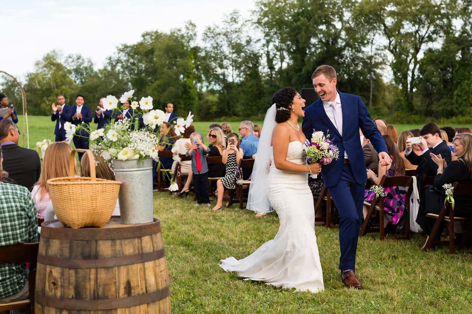 Canterbury NH Wedding on a farm in Shaker Village