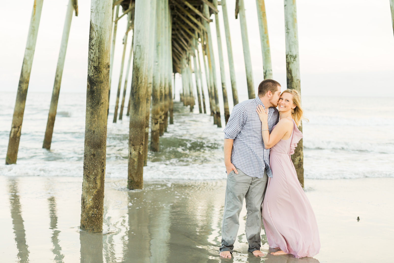 Kure-Beach-Pier-Engagement-4648