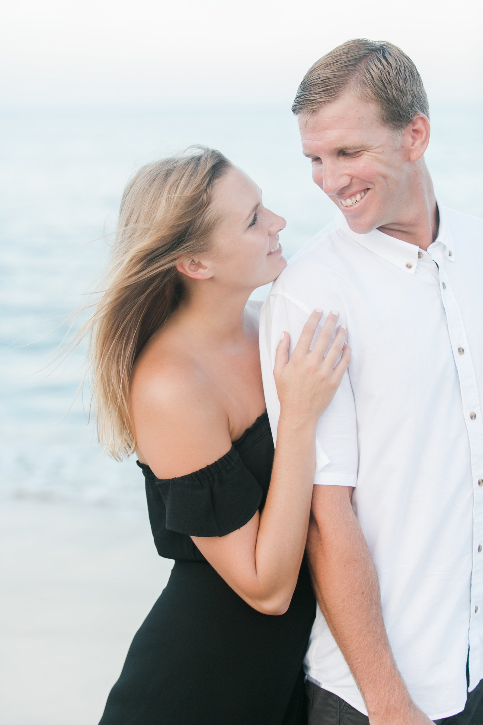 North End Virginia Beach Surf Engagement Session by Elizabeth Friske Photography-43