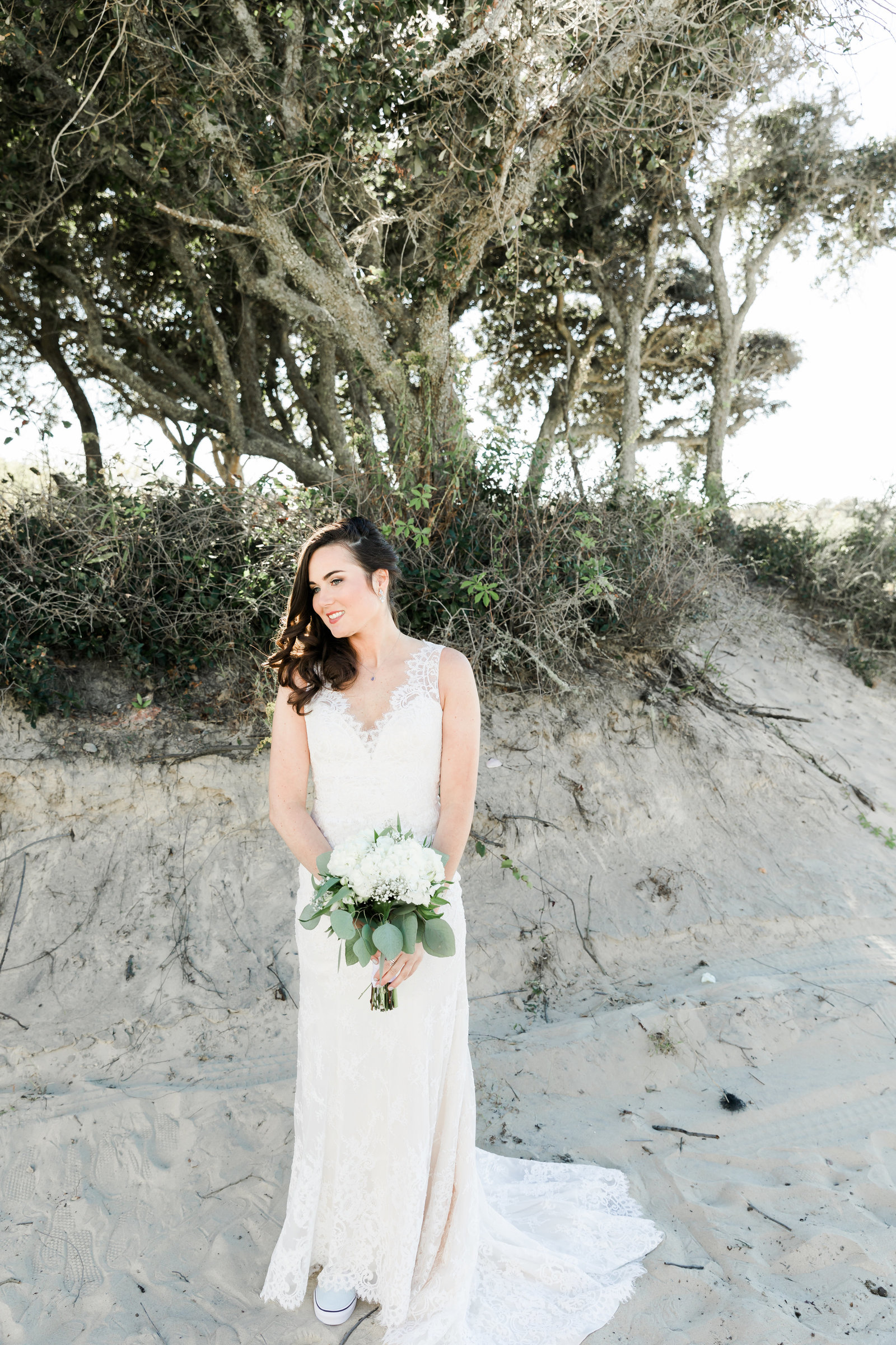 Classic Outer Banks Wedding by Elizabeth Friske Photography-30