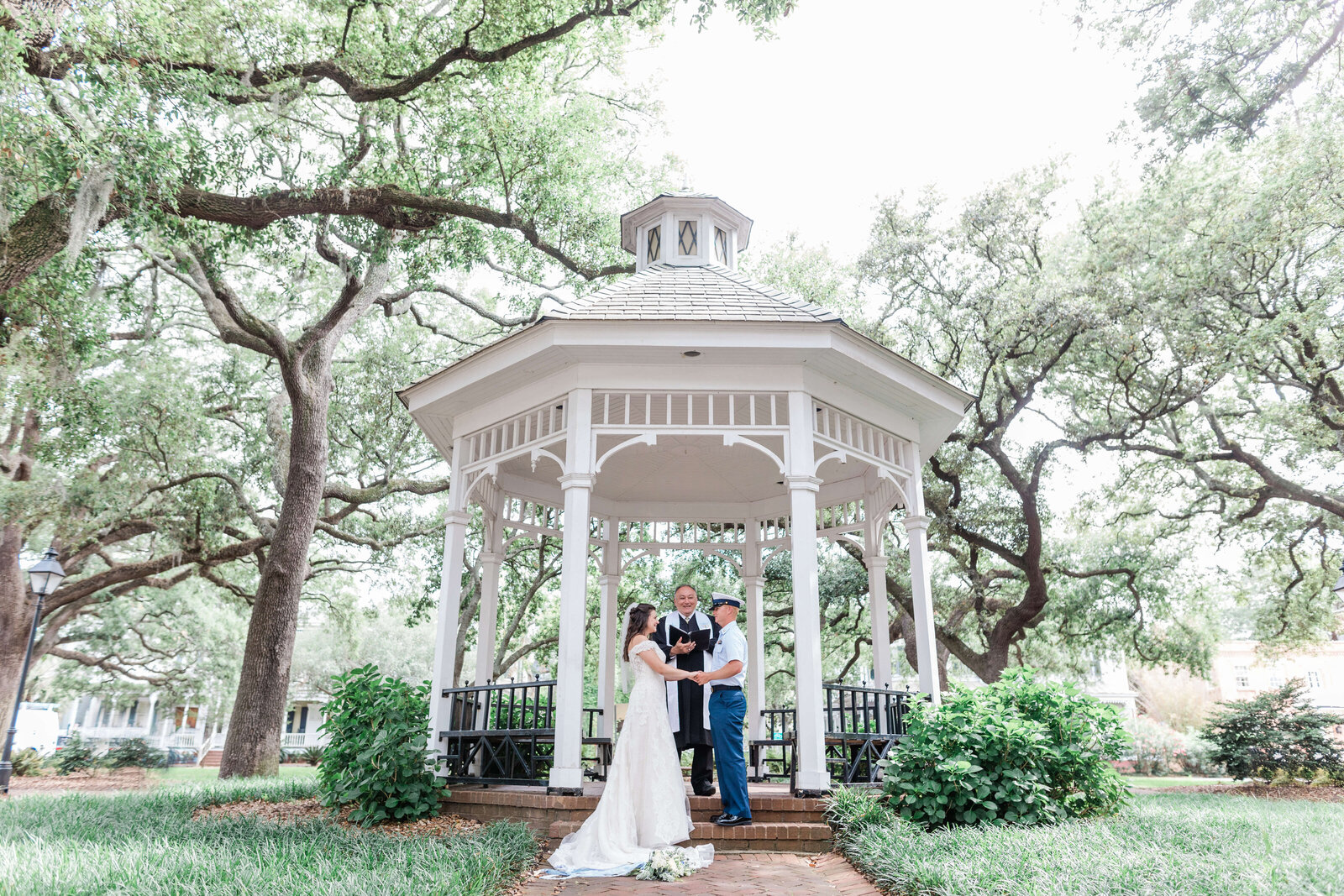 Elopement in Whitefield Square Savannah by Savannah Elopement Package
