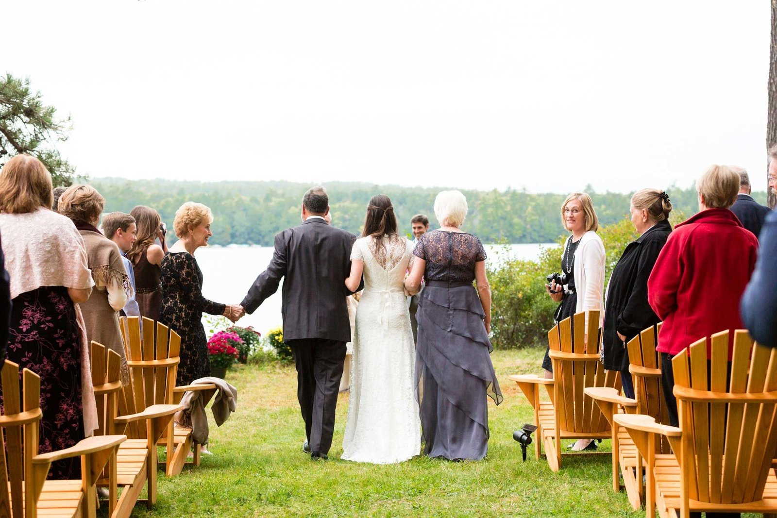 Bridgton Maine Wedding Photographer Ceremony Image