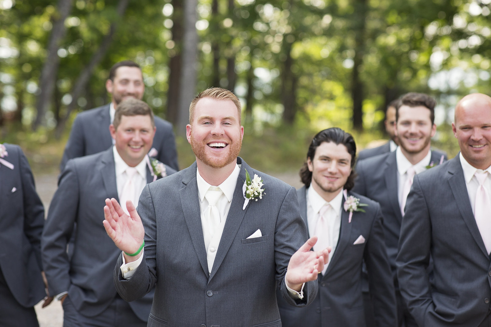 Upper Michigan and Wisconsin Photographer specializing in Engagement, Wedding, Senior and Family Portraits - Groomsmen Inspiration