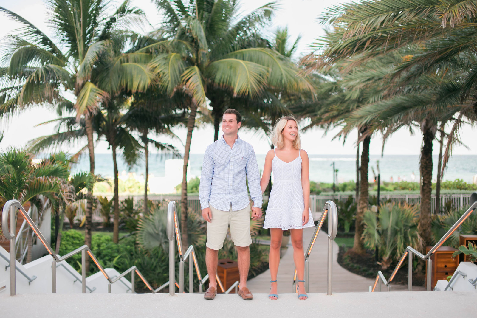 engagement photos on south beach