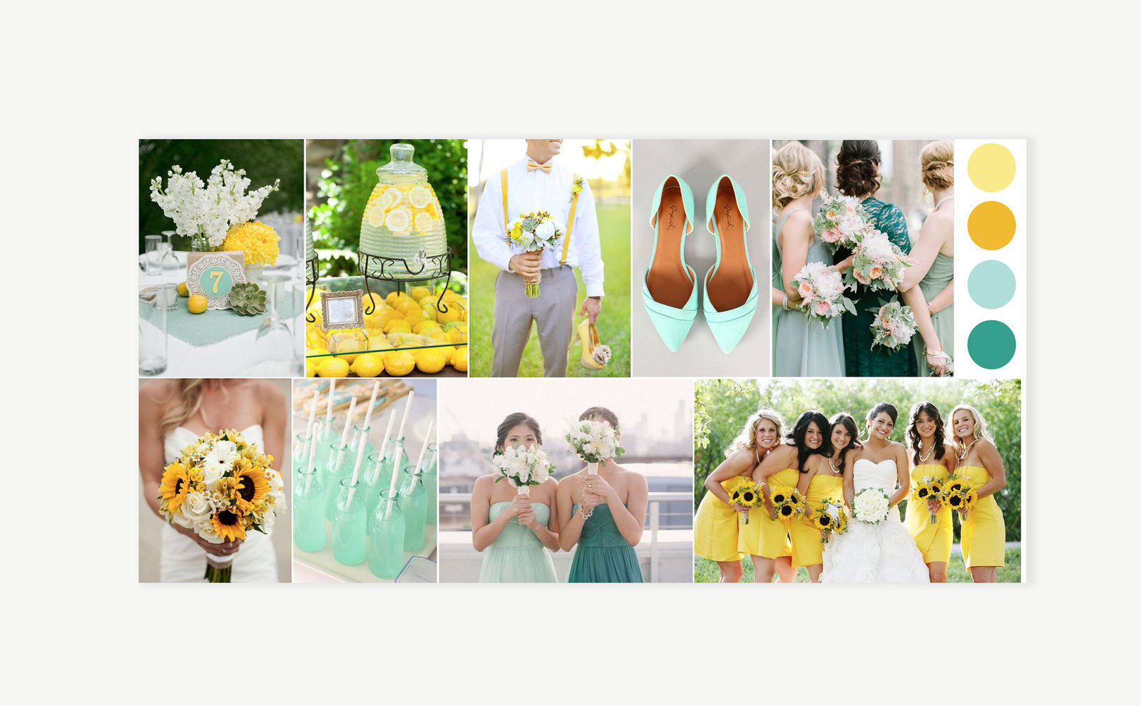 wedding-branding-mood-board-yellow-green-summer-emily-alex