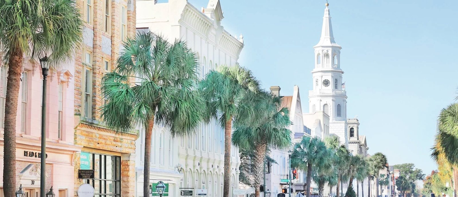 king street in charleston south carolina by Costola Photography