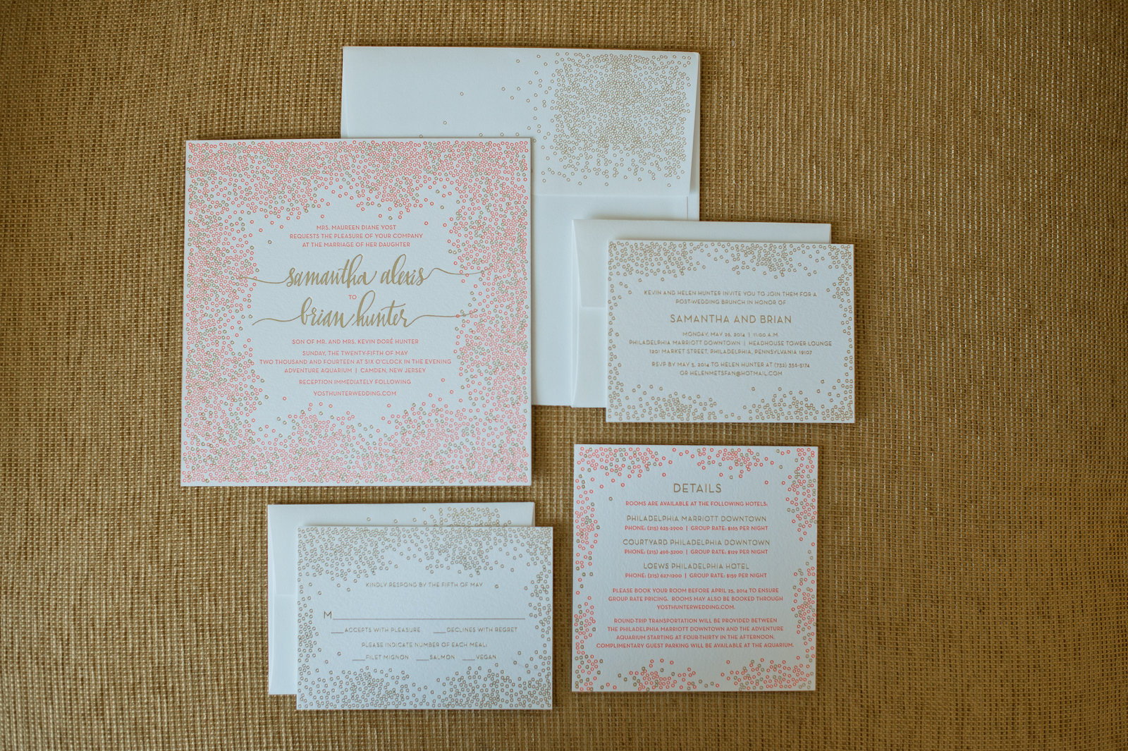 Bella Figura Wedding Invitation photo by Amanda Young Photography