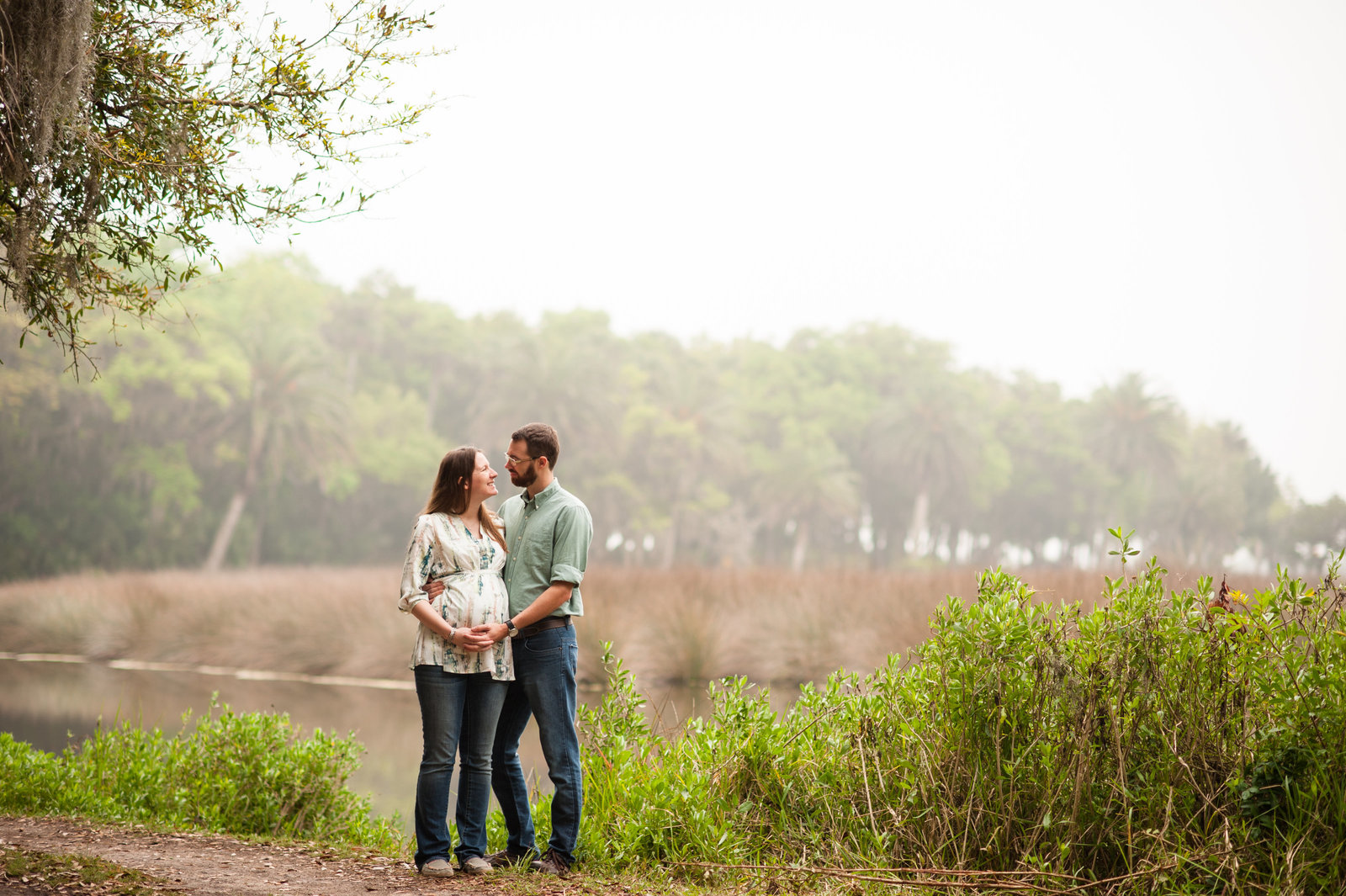 Ormond Beach maternity portraits