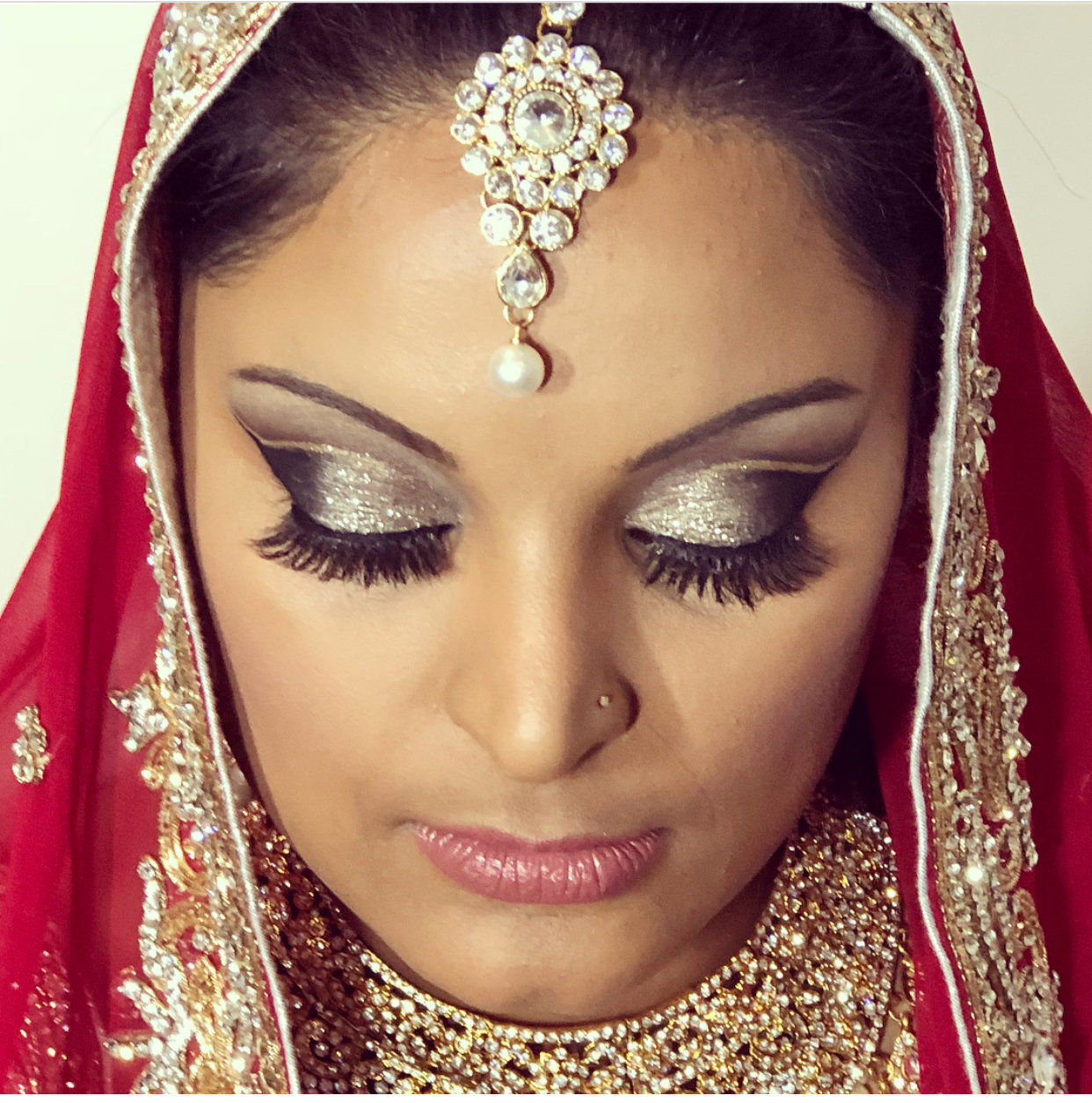 Indian hair and make up france