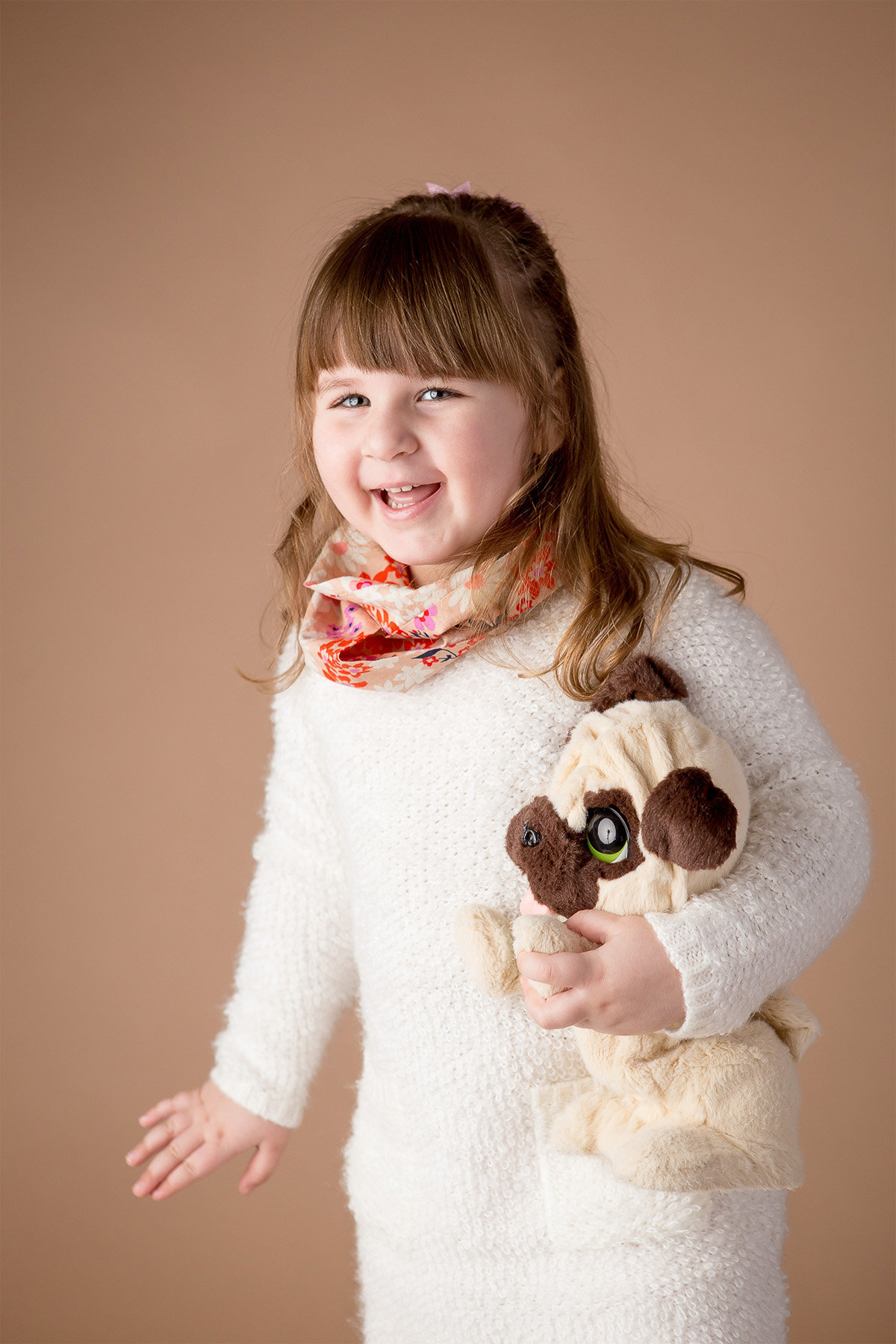 Child studio portrait photography by Hudson Valley children's photographer in Cornwall NY
