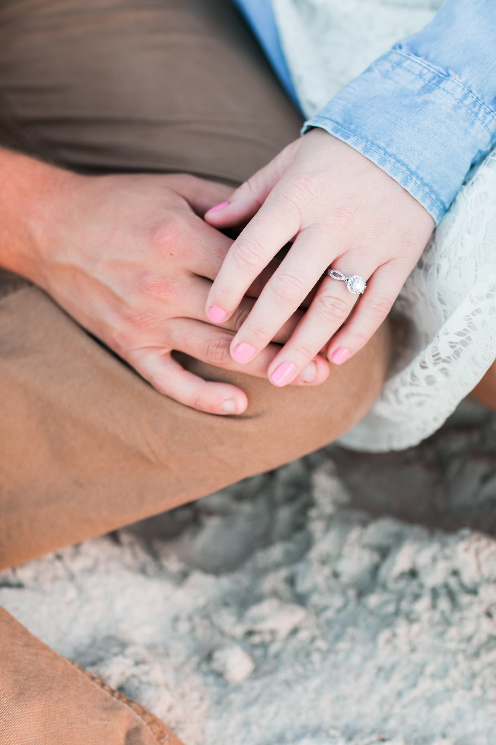 Cape Charles Sunset Engagement Session by Elizabeth Friske Photography-2