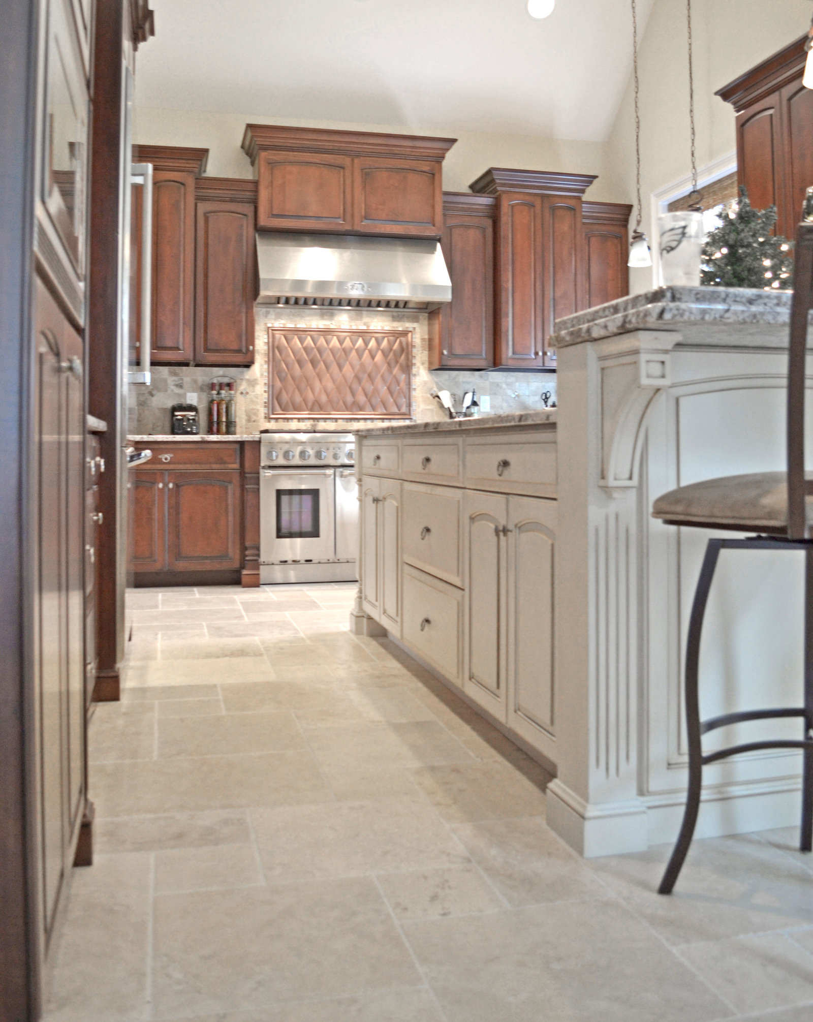 full overlay kitchen