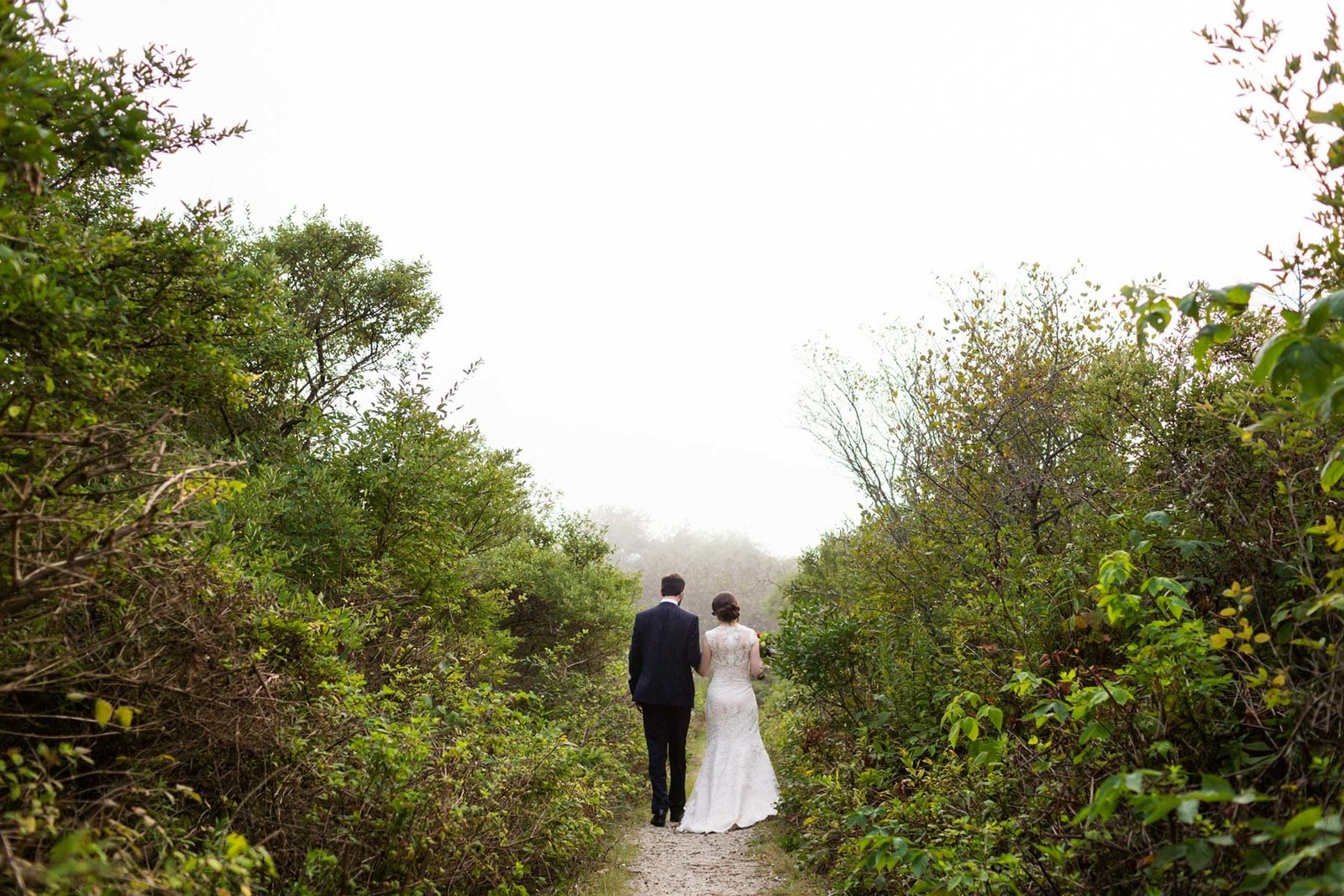 Kettle Cove Cape Elizabeth Portland Maine Wedding Photographer Fog Image