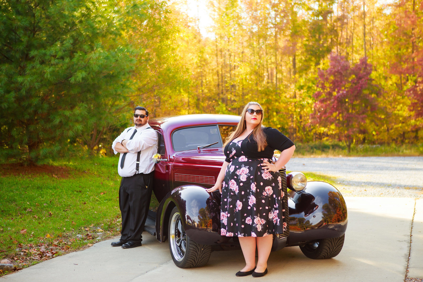 Retro_Pinup_Car_engagement_session_Nj008