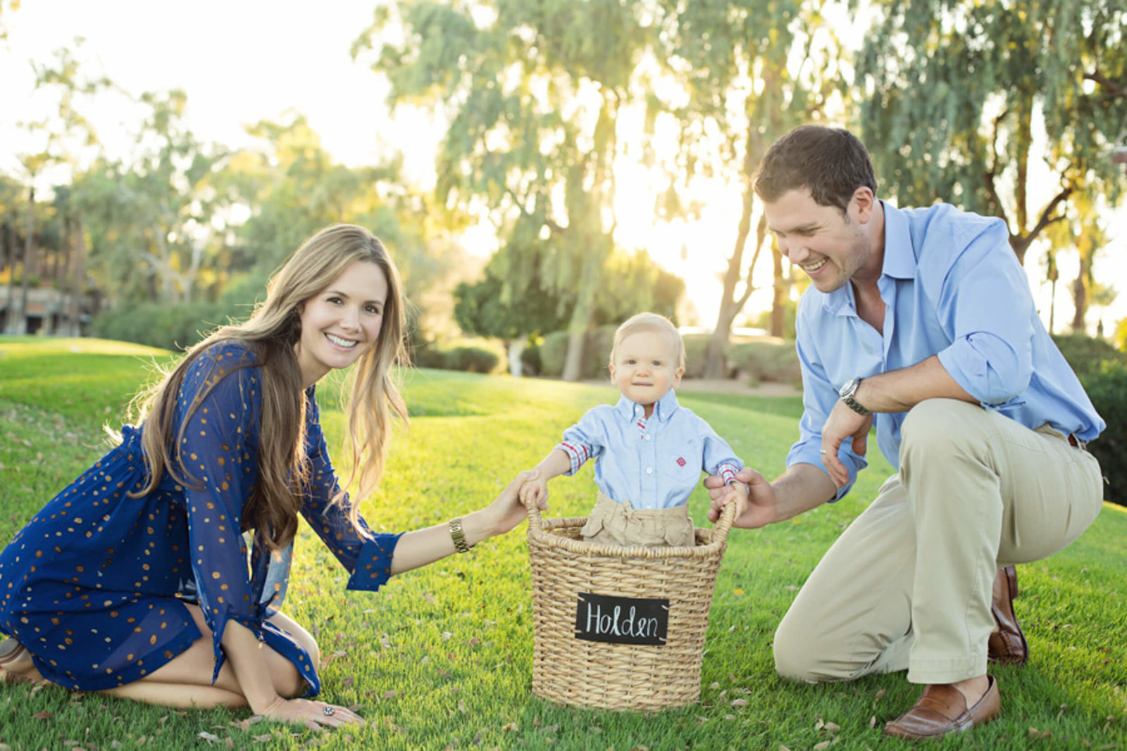 family of three scottsdale photoshoot