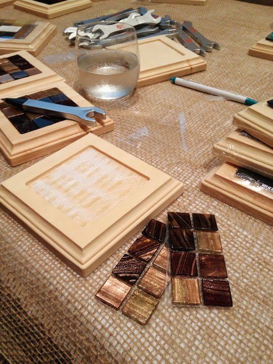 Haven Conference Making Coasters with Home Depot