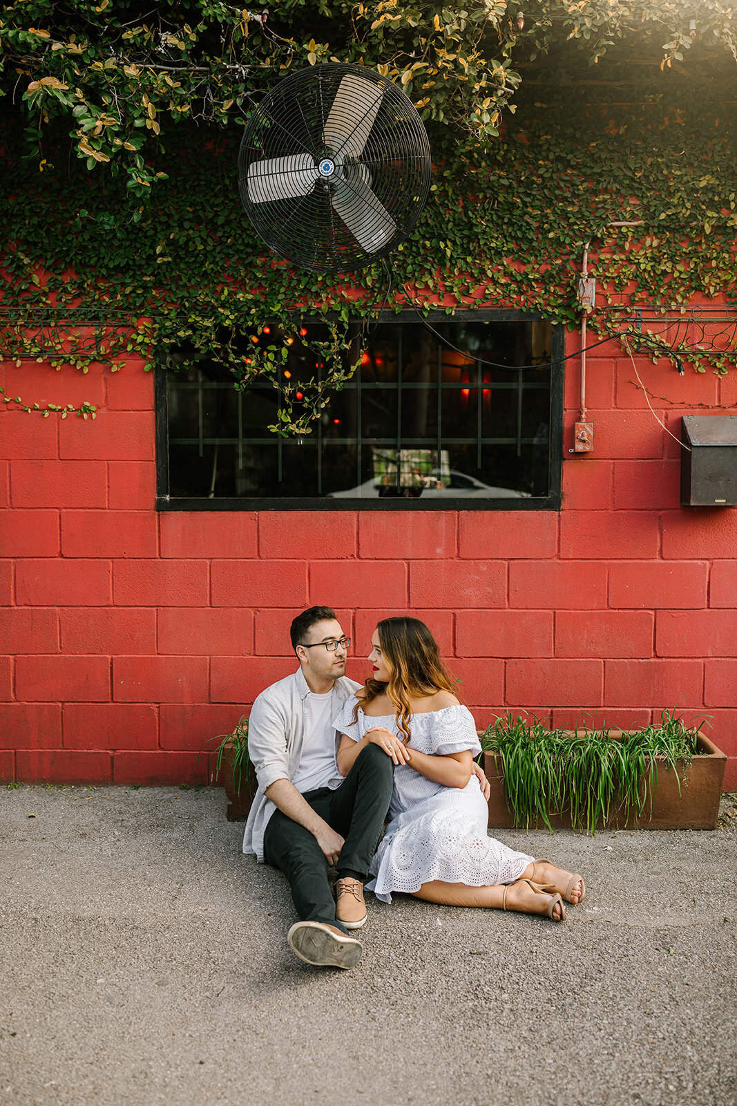 Kori+Tommy_Memorial Park and Downtown Houston Engagements_18