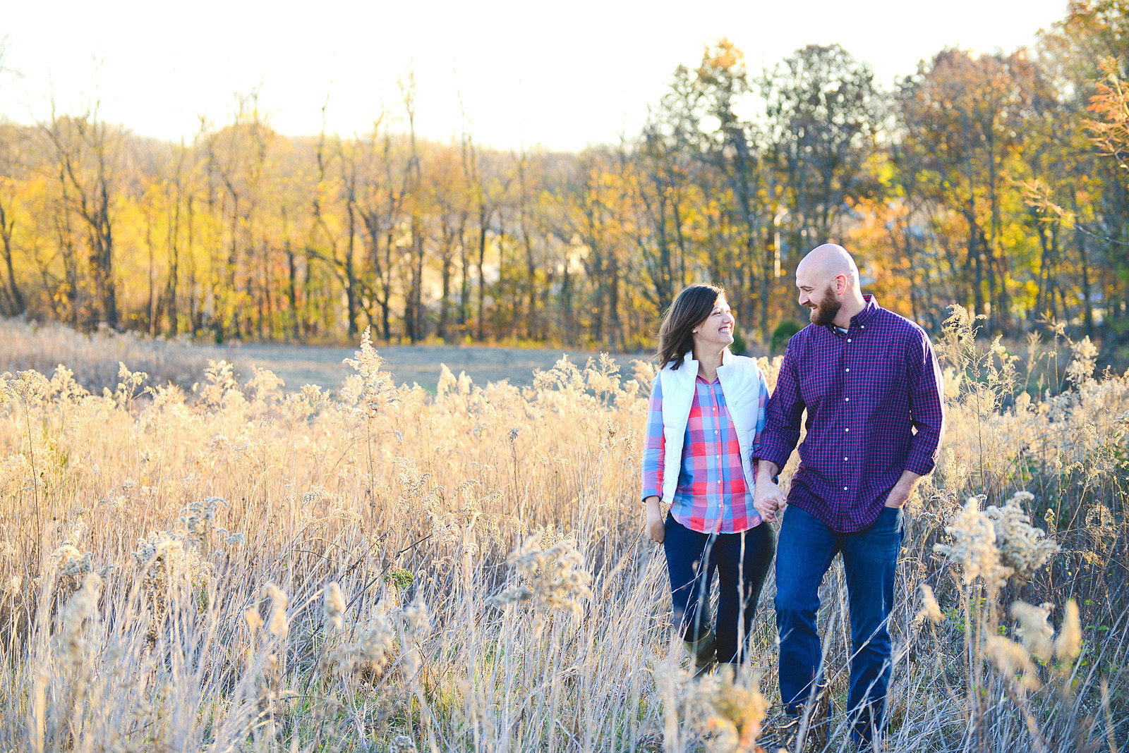 Fall Family Pictures in Wheat Field-12