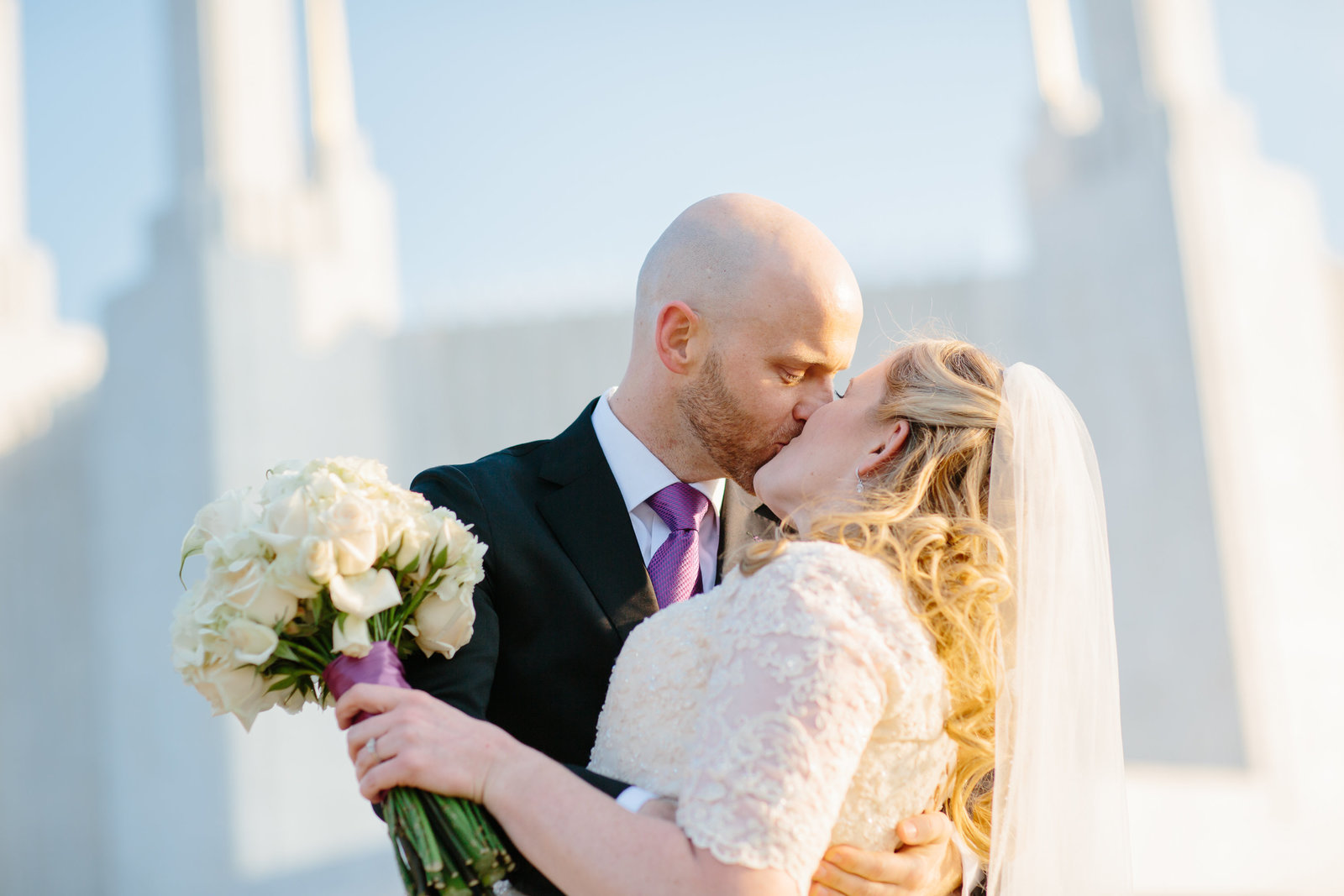 DC LDS Mormon Temple Wedding
