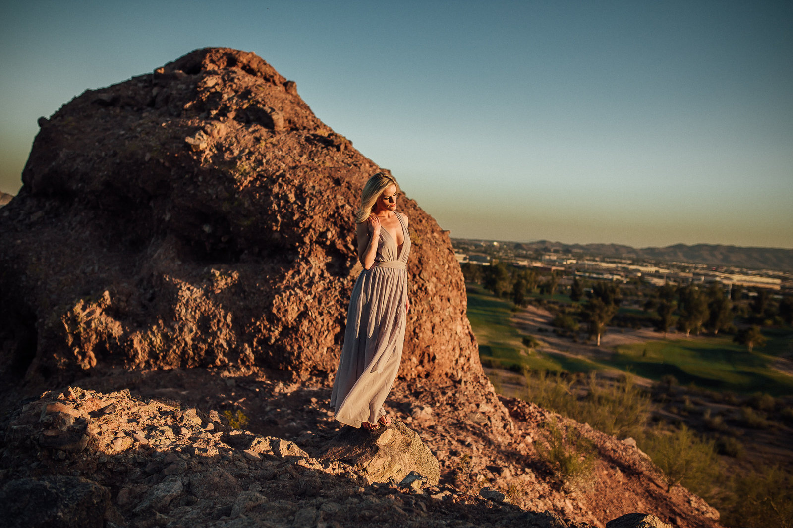 arizona sunset elopement