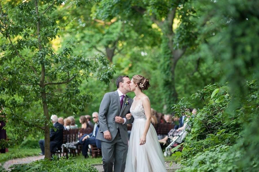 Bartam's Garden Outdoor wedding ceremony photo by Entwined Studio