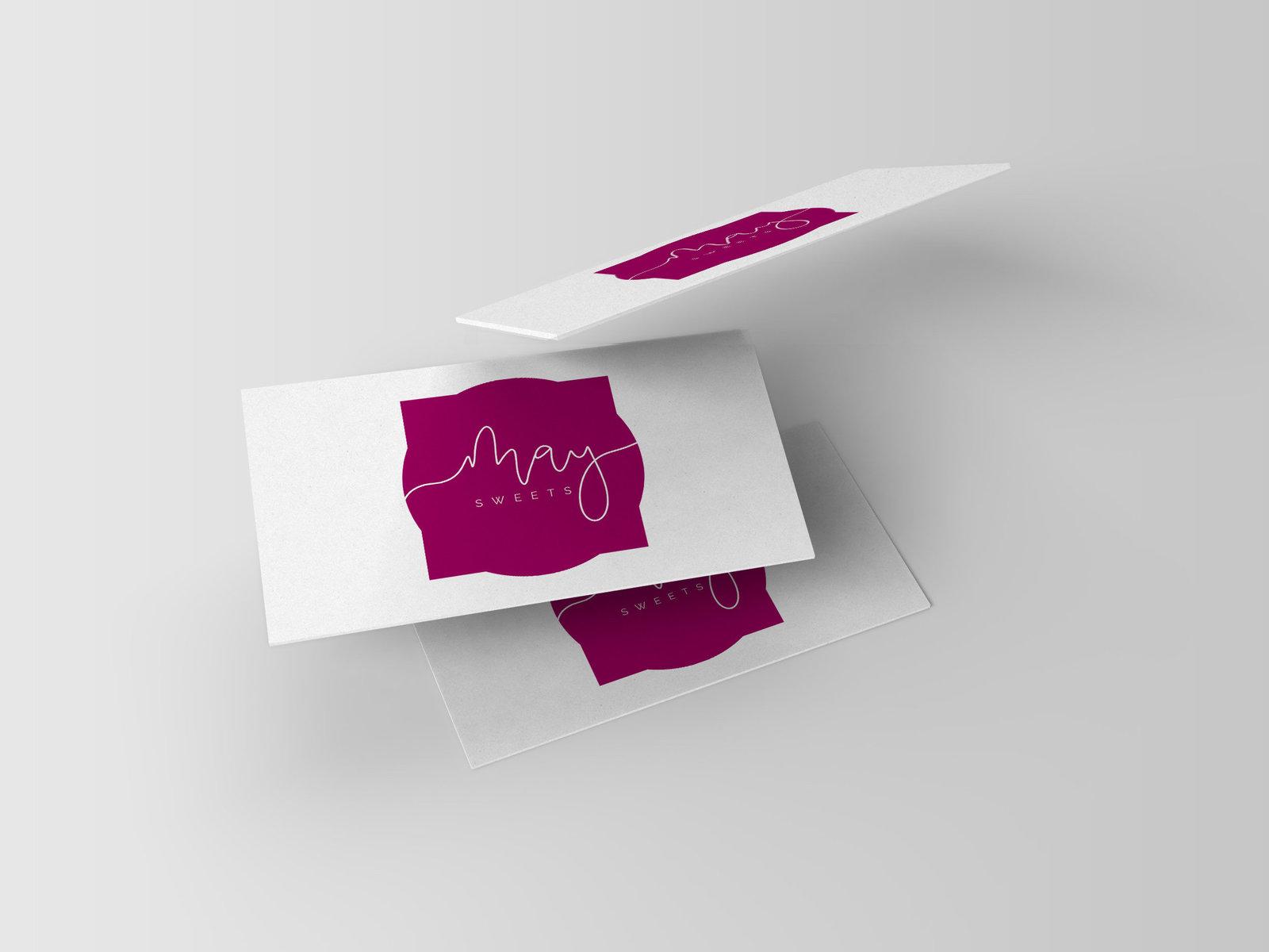 may sweets biz cards