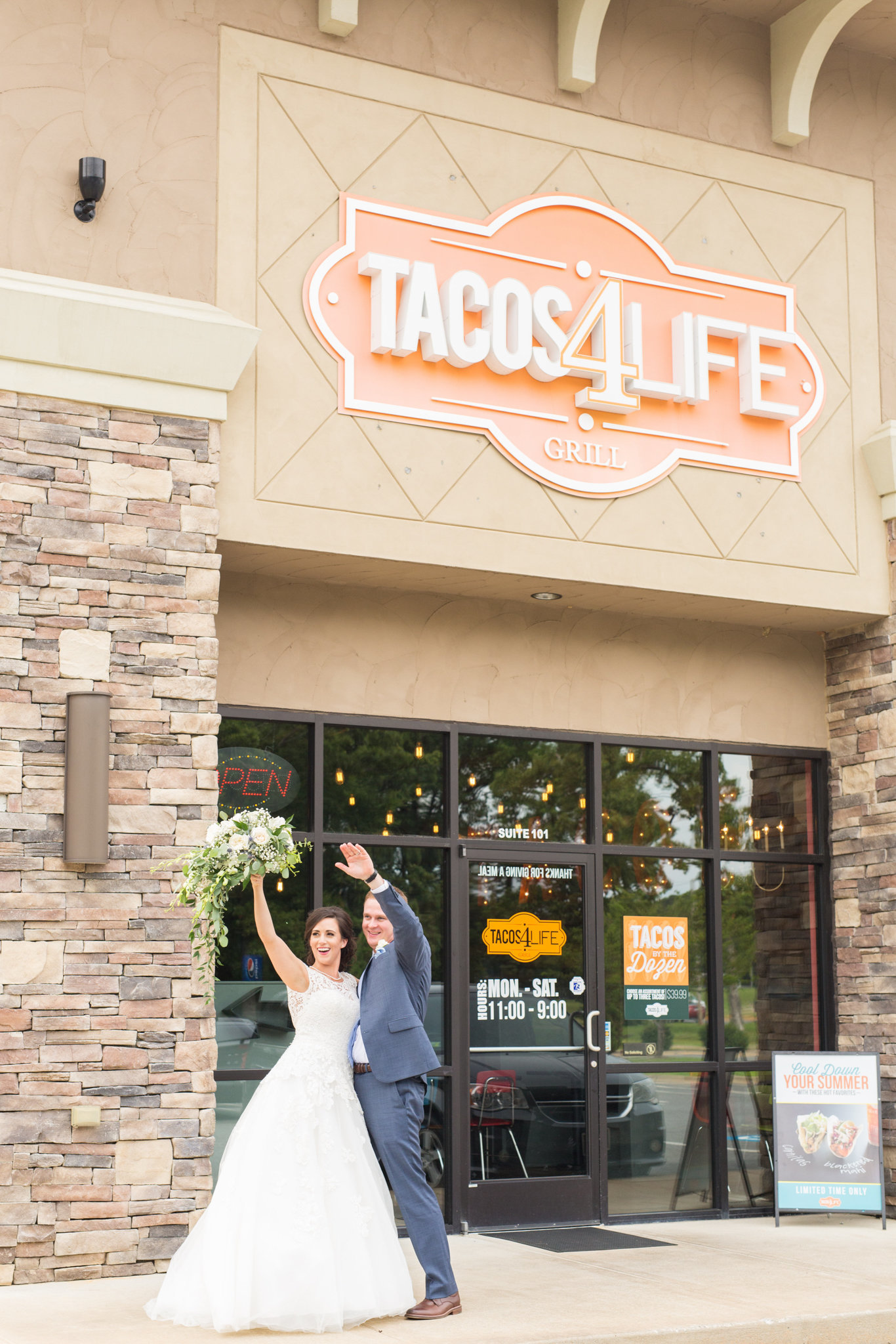 Tacos For Life Conway Arkansas Wedding
