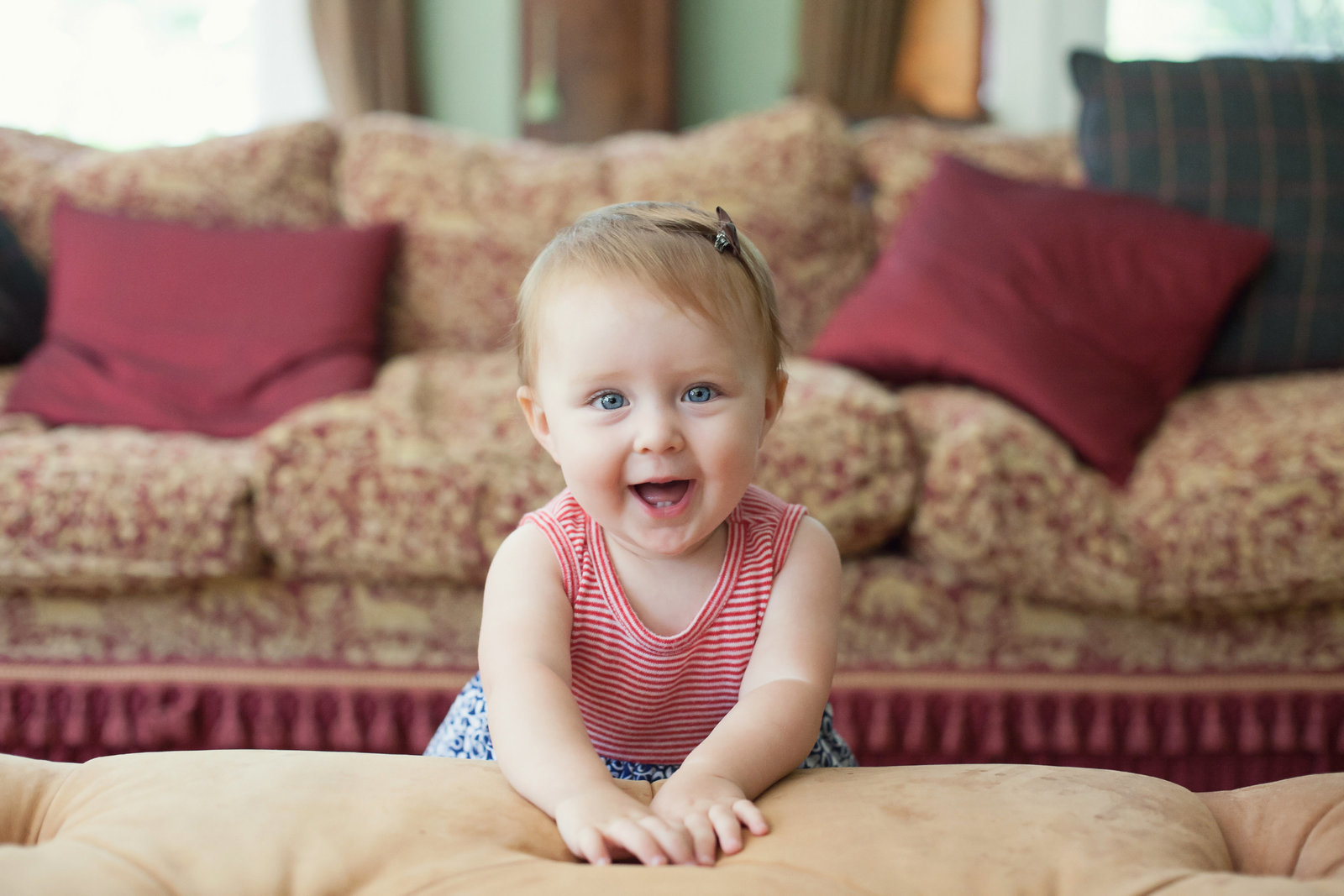 one year old first birthday photography by Hudson Valley professional baby photographer in Cornwall NY