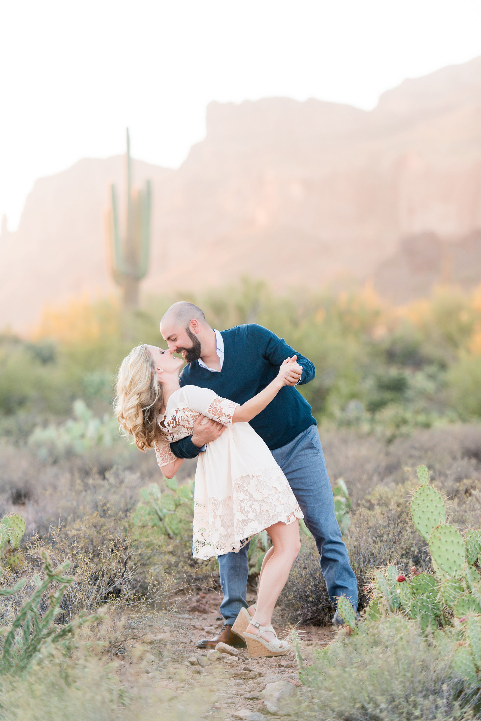 Scottsdale Desert Engagement Photographers