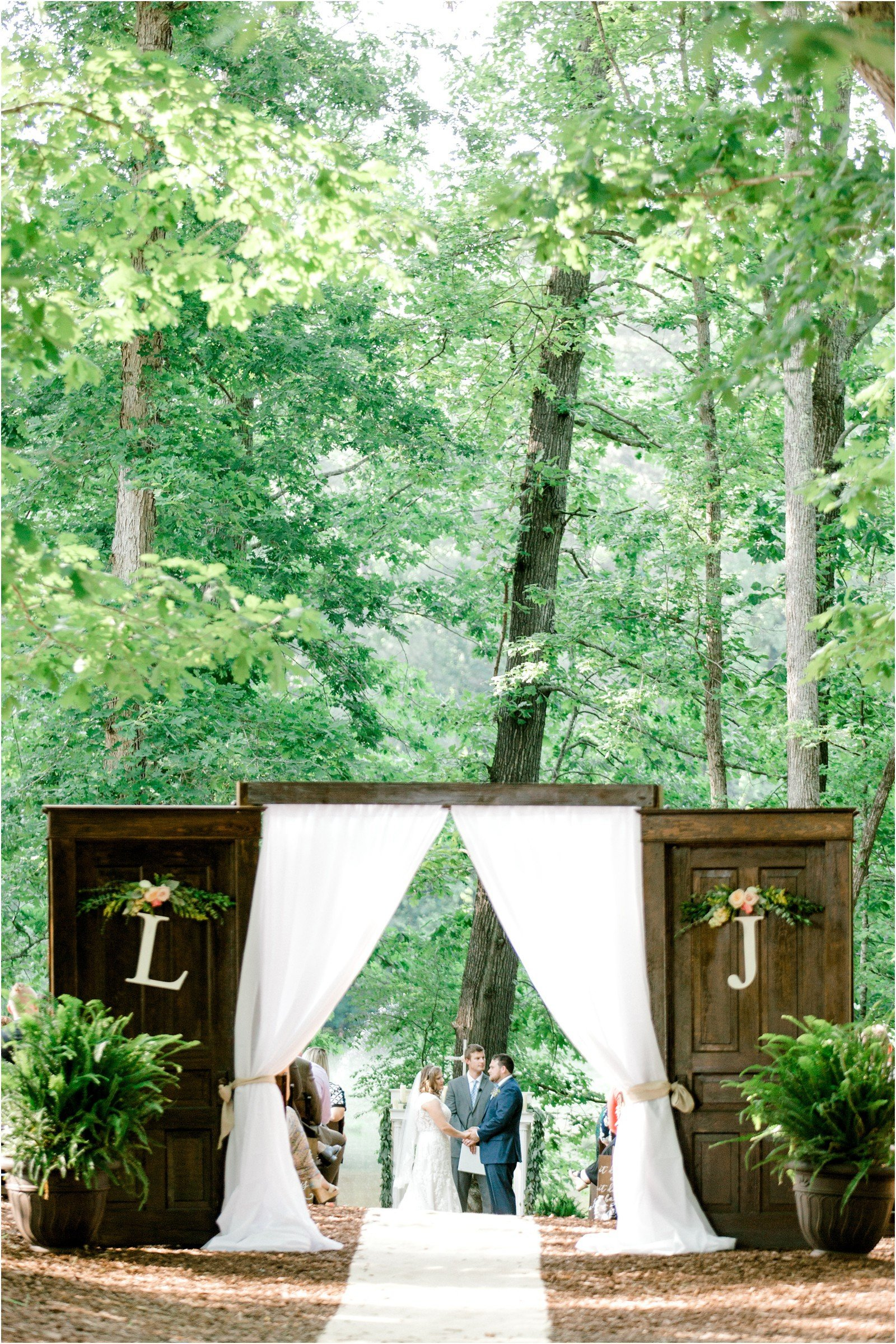 Chapel in the Woods Rustic Country Vintage Wedding Raleigh NC Plume Events Andrew & Tianna Photography-19