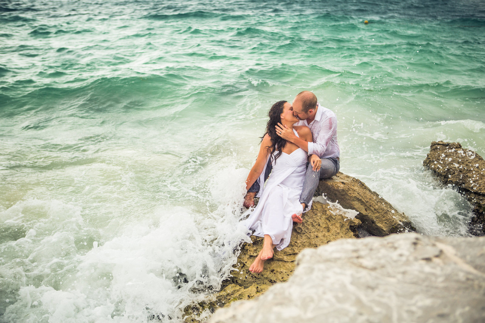 Dan and Emily-Trash the Dress-0087